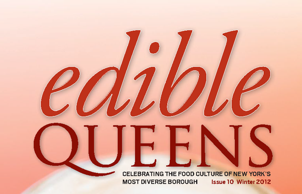 Edible Queens header on winter 2012 cover